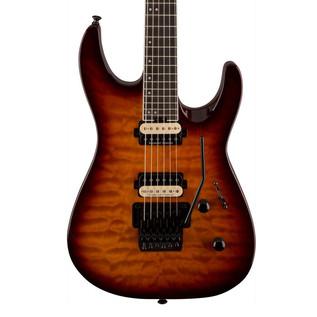 Jackson Pro Dinky DK2Q Electric Guitar, Tobacco Burst