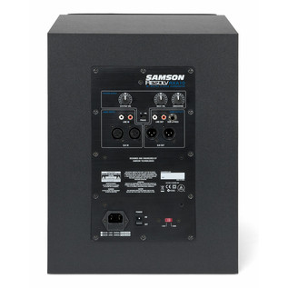 Samson Resolv RXA10S Active Subwoofer, Rear Panel