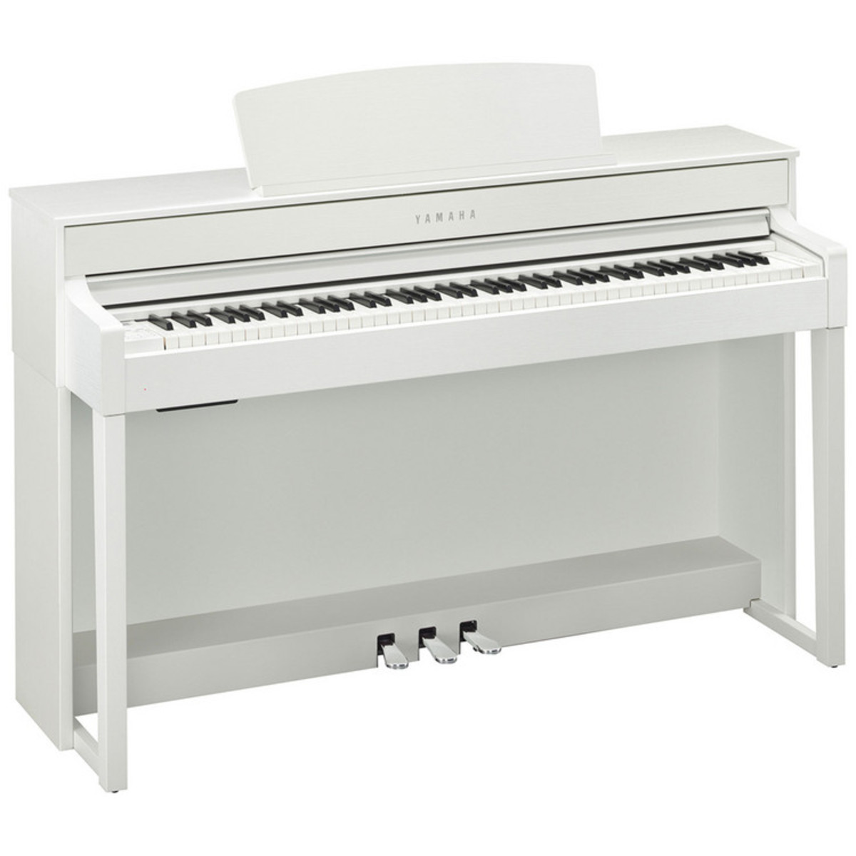 Yamaha clavinova clp545 digital piano white nearly new for White yamaha piano