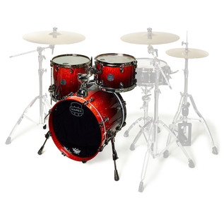 Mapex Saturn V MH Exotic Series Club Classic, Cherry Mist Maple Burl