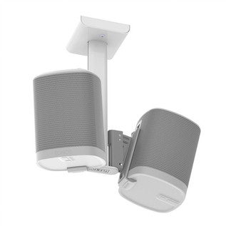 Flexson Ceiling Mount for SONOS PLAY:1 - White (Double)