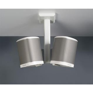 Flexson Ceiling Mount for SONOS PLAY:1 - White (Double) 2
