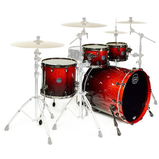 Mapex Saturn V MH Exotic Series Sub Wave, Cherry Mist Maple Burl