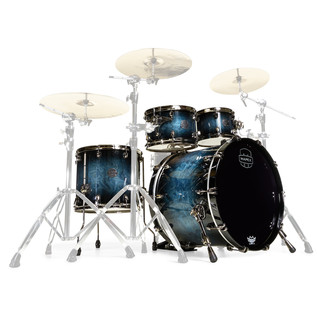 Mapex Saturn V MH Exotic Series Sound Wave, Deep Water Maple Burl