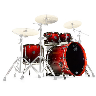 Mapex Saturn V MH Exotic Series Sound Wave, Cherry Mist Maple Burl