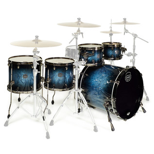 Mapex Saturn V MH Exotic Series Sub Wave Twin, Deep Water Maple Burl