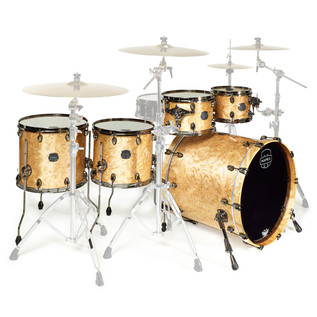 Mapex Saturn V MH Exotic Series Sub Wave Twin, Natural Maple Burl