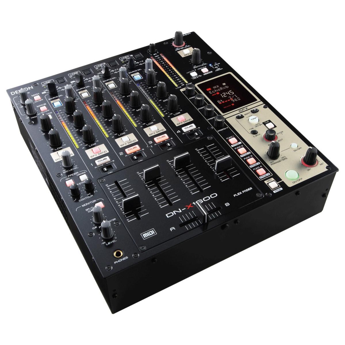 Digital Mixer Dj : disc denon dj dnx1600 4 channel digital dj mixer at ~ Russianpoet.info Haus und Dekorationen