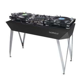 Glorious Diamond DJ Table, Black 3