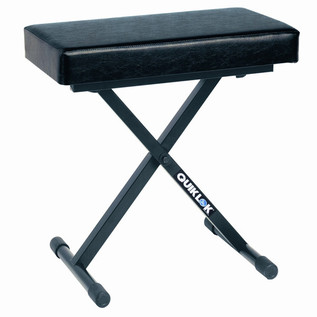 Quiklok BX718 Deluxe Adjustable Piano Bench