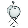 Pearl Banda Tambora with Stand, Pure White