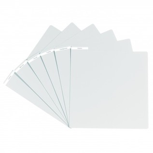 Glorious PVC Vinyl Divider, White