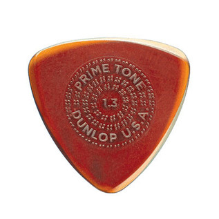 Dunlop Primetone Small Tri Sculpted Plectra 1.3 Gauge, 3 Pack