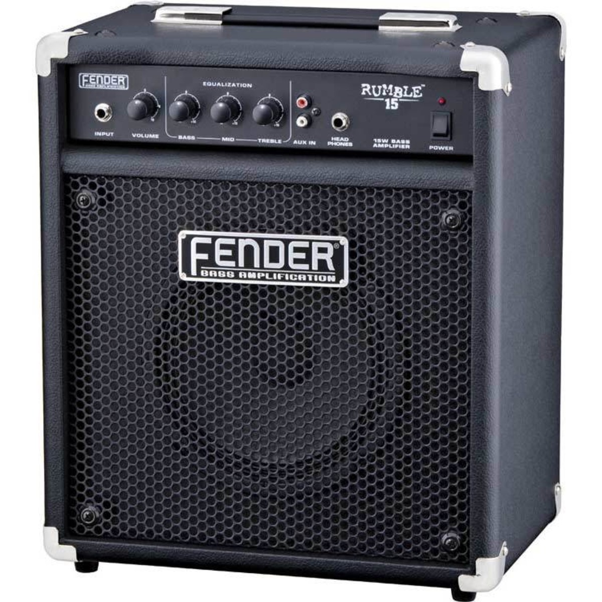 fender rumble 15 bass combo amp nearly new at. Black Bedroom Furniture Sets. Home Design Ideas
