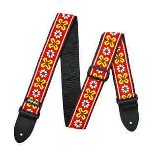 Dunlop Jacquard Strap, Avalon Red