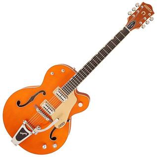 Gretsch G6120SSL Brian Setzer Nashville, 5-Ply Maple, Orange Lacquer