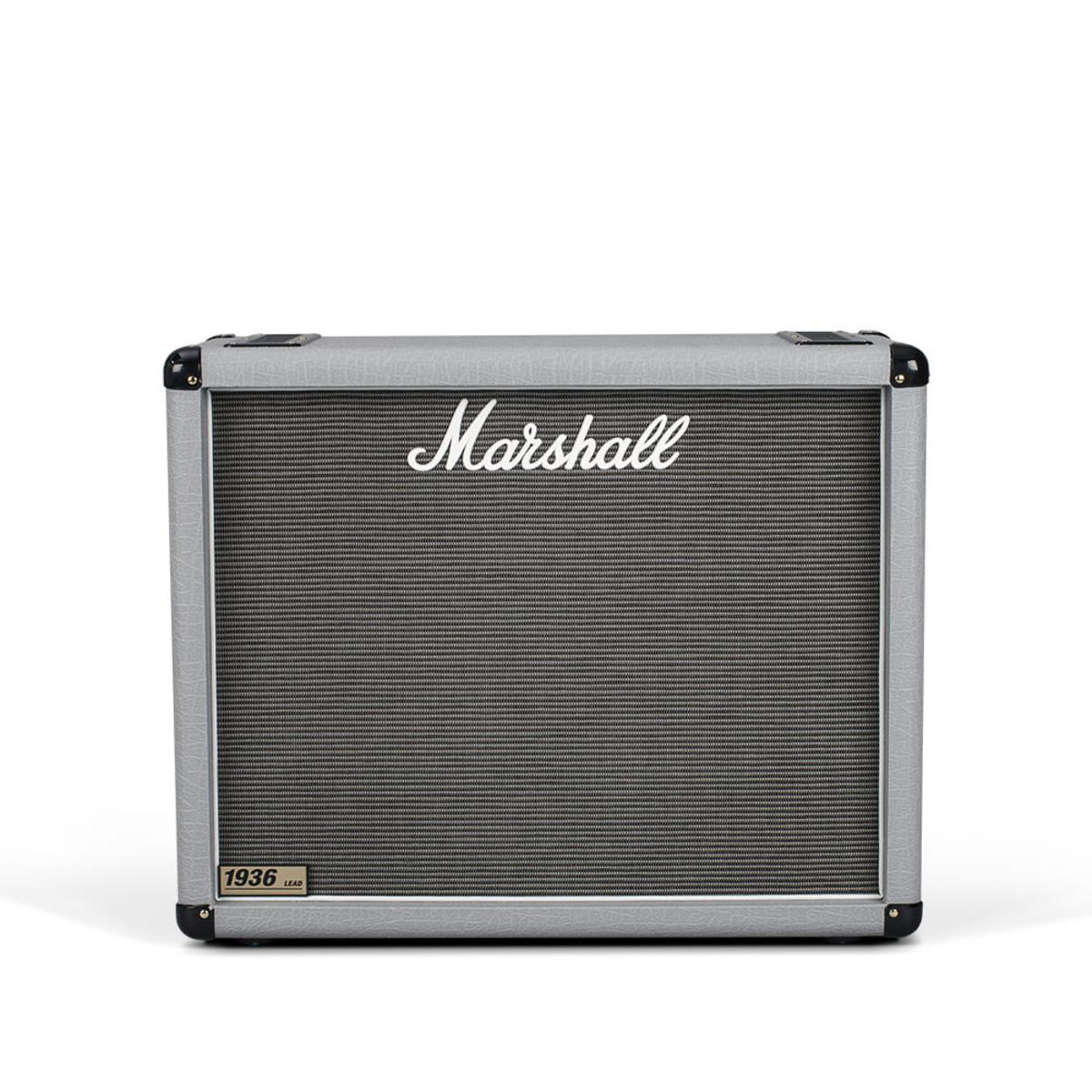marshall 1936 2x12 guitar speaker cab silver at. Black Bedroom Furniture Sets. Home Design Ideas