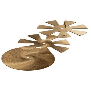 Sabian 8'' Chopper Cymbal, Exploded View