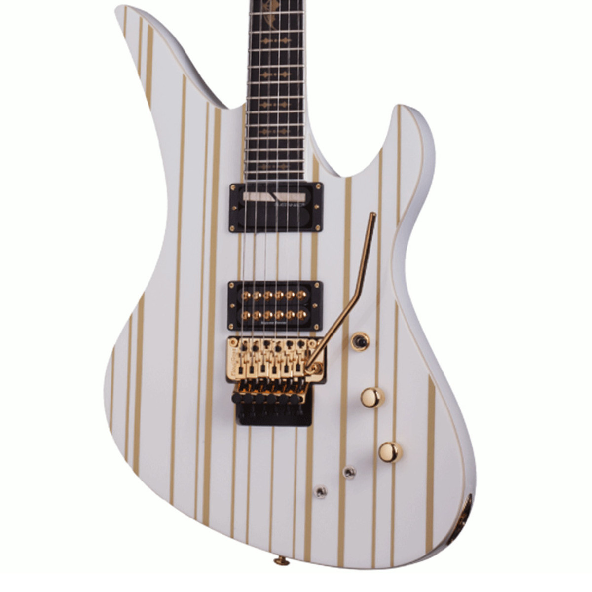 Schecter Synyster Gates Custom C Limited Edition White