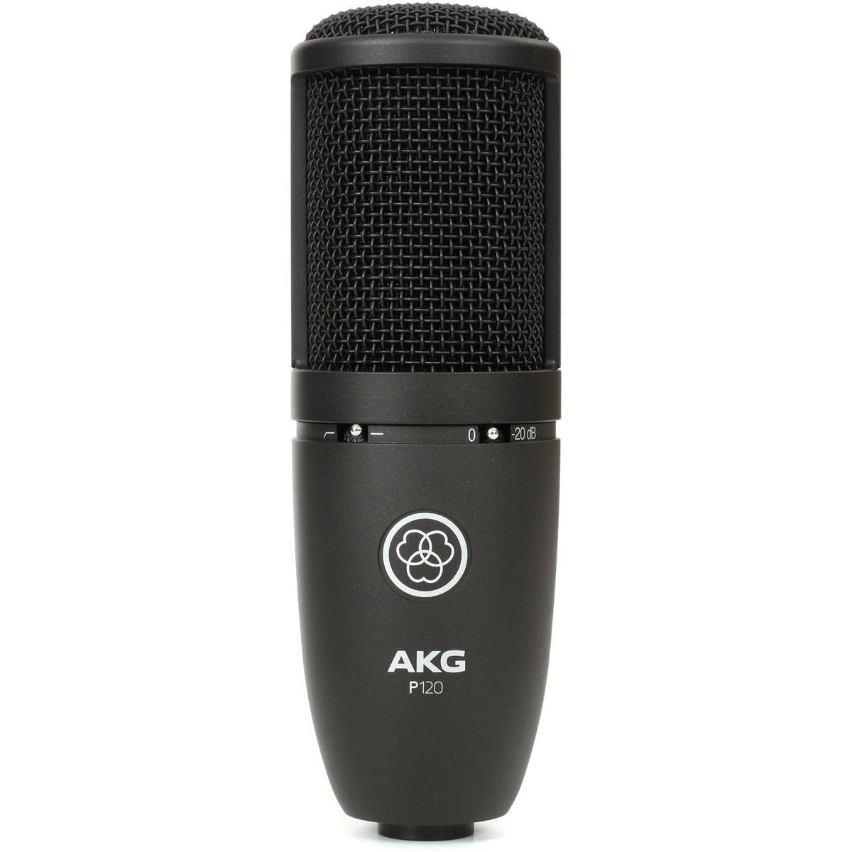 Image of AKG P120 Large Diaphragm Condenser Microphone