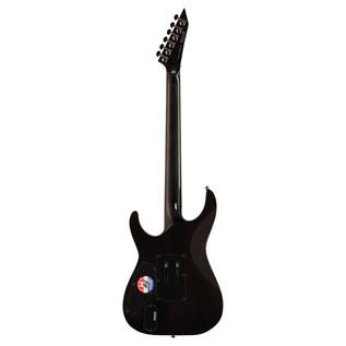 ESP LTD M-1001FM Electric Guitar, See Thru Black