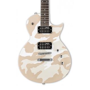 ESP LTD WA-200 Warbird Electric Guitar, White Camo