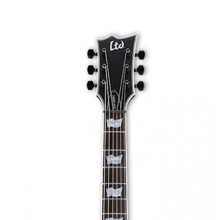 ESP LTD GUS-200EC Gus. G Signature Electric Guitar, Black Satin