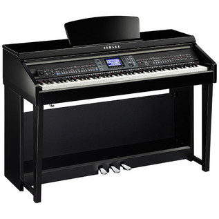 Yamaha Clavinova CVP601 Digital Piano, Polished Ebony