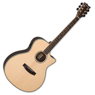 ESP LTD A-430E Tombstone Electro Acoustic Guitar, Natural