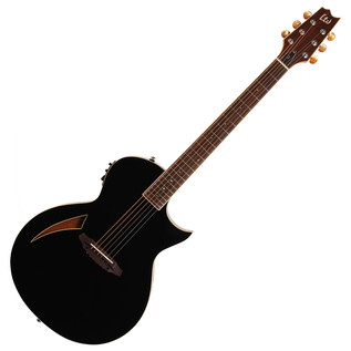 ESP LTD TL-6 Electro Acoustic Guitar, Black