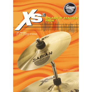 Sabian XS20 Splash 'n' Stacker Pack