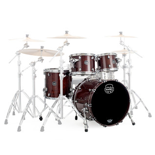 Mapex Saturn V 20'' Club Fusion Shell Pack, Espresso Walnut