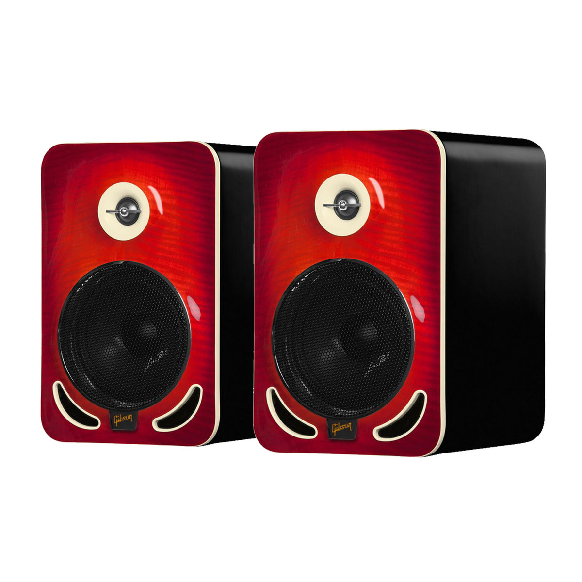 Cheap Gibson Les Paul LP6 Reference Monitors, Cherry (Pair)