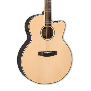 ESP LTD J-430E Tombstone Electro Acoustic Guitar, Natural
