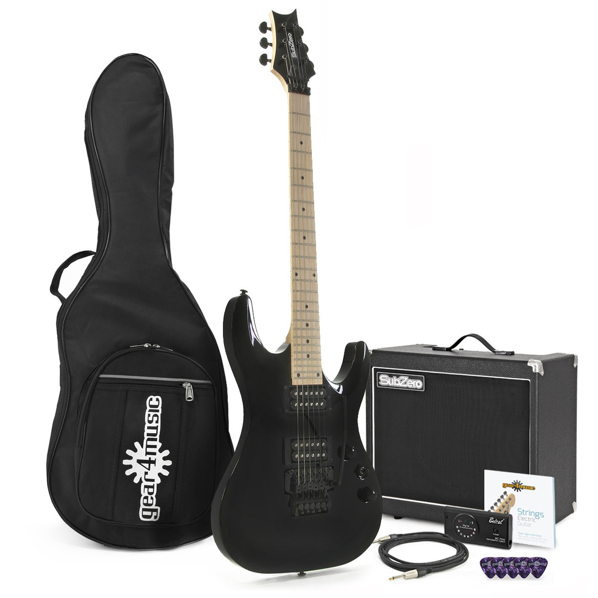 pack guitare lectrique subzero lincoln 33 ampli subzero. Black Bedroom Furniture Sets. Home Design Ideas
