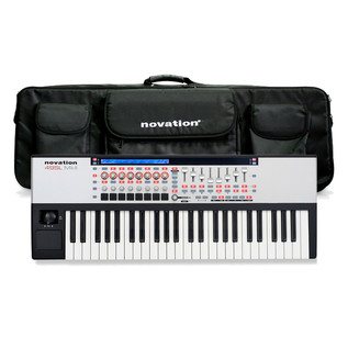 Novation 49 SL Mk2 MIDI Controller Keyboard with FREE Bag