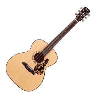Framus Legacy Series Folk Acoustic Guitar, Vintage Natural Satin