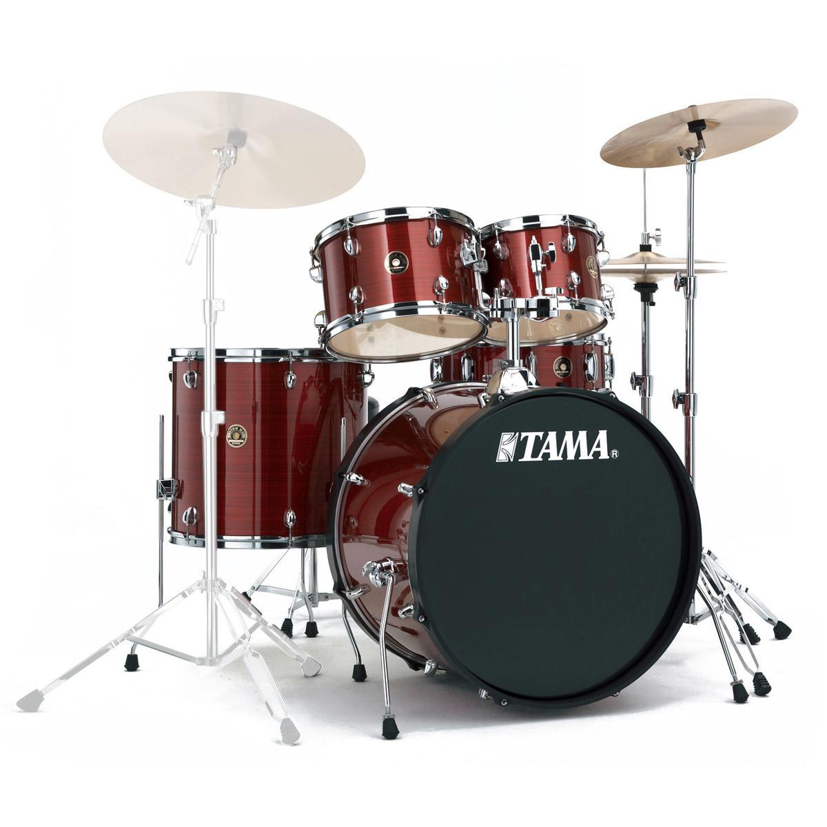 tama rhythm mate 22 39 39 fusion drum kit red stream at. Black Bedroom Furniture Sets. Home Design Ideas