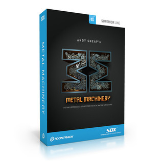 Toontrack SDX: Metal Machinery