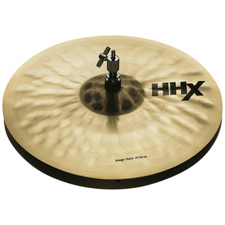 Sabian HHX 14'' Stage Hi-Hat Cymbals, Natural Finish