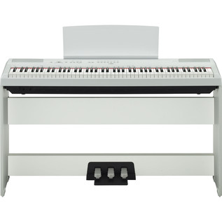 Yamaha P115 Digital Piano, White 3