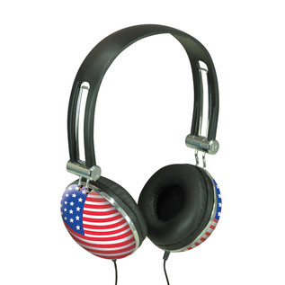 Electrovision Stars and Stripes Stereo Headphones