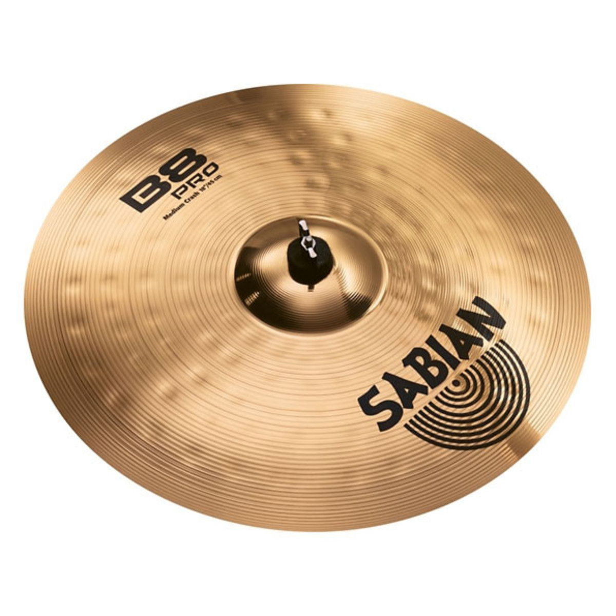 sabian b8 pro 18 39 39 medium crash cymbal at