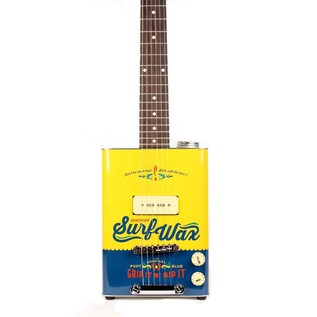 Bohemian Electric Guitar, Surf Wax