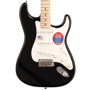 Fender Eric Clapton Stratocaster Electric Guitar, MN Black