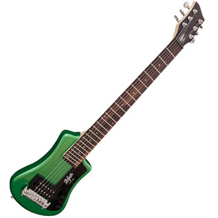 Hofner HCT Shorty Electric Guitar, Cadillac Green
