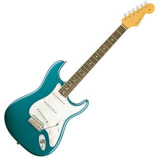 Fender Eric Johnson Stratocaster Guitar, RW Lucerne Aqua Firemist