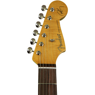 Fender Robert Cray Stratocaster Electric Guitar, Inca Silver