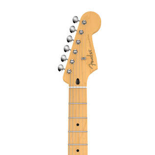 Fender Jimmie Vaughan Tex-Mex Stratocaster Electric Guitar, Black