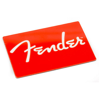 Fender Red Logo Magnet